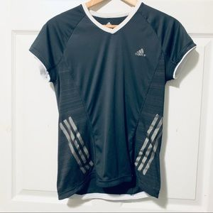 Adidas Running Tee with 3 stripes
